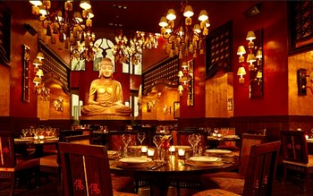 buddha bar asian restaurant budapest vaci walking street klotild palace hotel