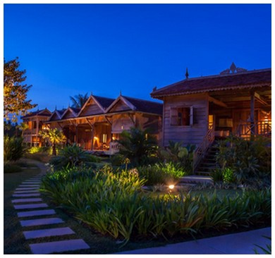 sala lodges private villas traditional khmer houses siem reap angkor best luxury hotels cambodia