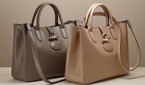 Small Leather Longchamp Hand Bag S Rue Saint Honoré