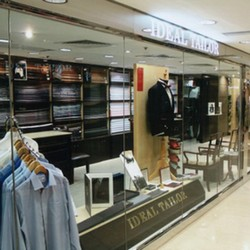 ideal tailor landmark central best luxury shopping mall hong kong
