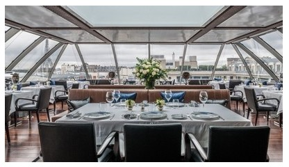 oiseau blanc peninsula paris sidney redel best gastronomic restaurant in paris