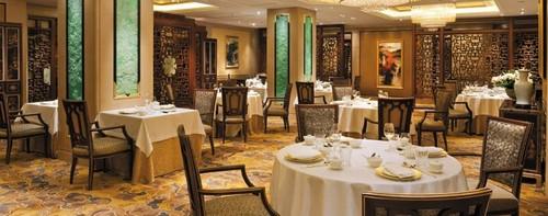 Operates Shang Palace Best Michelin Star Chinese Restaurant Paris Shangri La Hotel