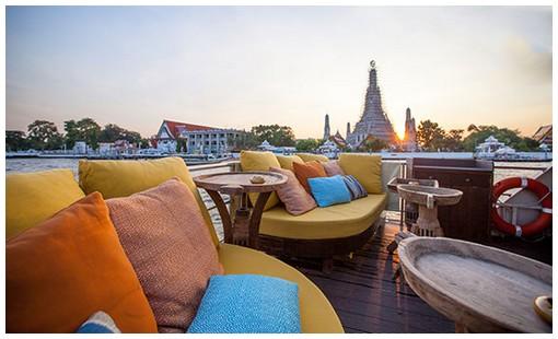 suppaniga best gastronomic river cruise vip private yacht menam chao phraya river bangkok