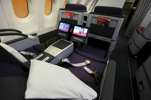 turkish airlines b777 business class cabin seats